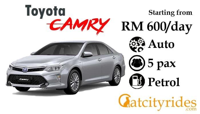 Kuching_car_rental_kereta_sewa_kuching_Catcityrides_Camry