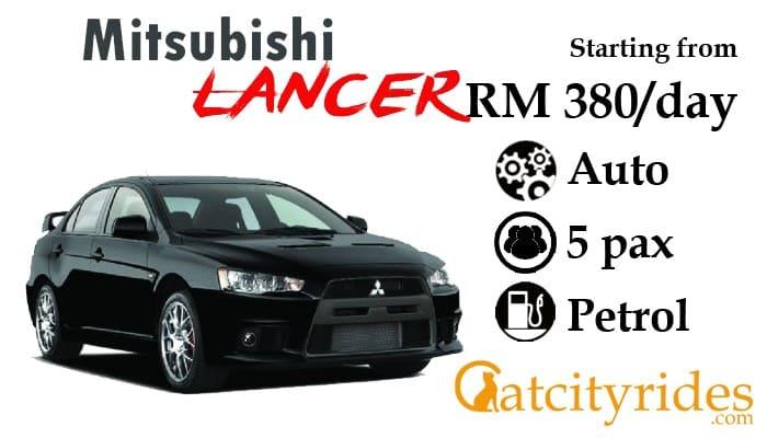 Kuching_car_rental_kereta_sewa_kuching_Catcityrides_Lancer