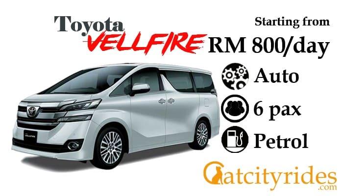 Kuching_car_rental_kereta_sewa_kuching_Catcityrides_Vellfire